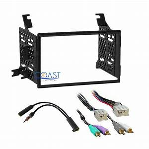 Car Radio Stereo Dash Kit Amp Wire Harness For 05