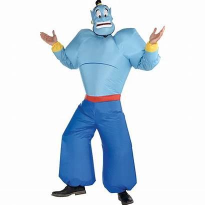 Genie Aladdin Costume Adult Inflatable Costumes Jasmine