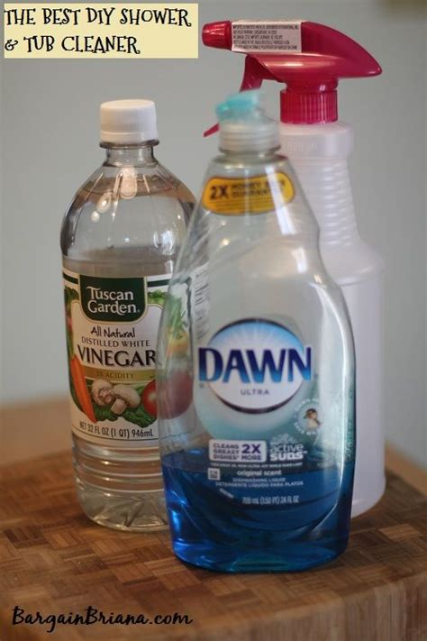 vinegar and shower the best shower and tub cleaner rezept