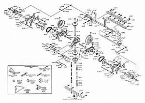 Dixon Ztr 4422  1994  Parts Diagram For Transaxle Assembly