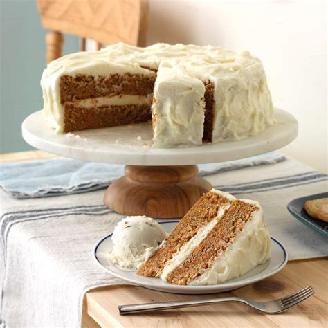 fashioned carrot cake  cream cheese frosting
