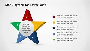 3d Stars Template For Powerpoint