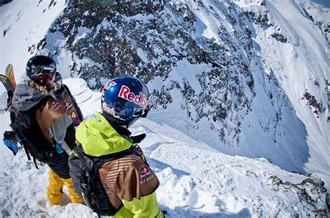 Red Bull Cold Rush Kicks Off With Big-mountain Day