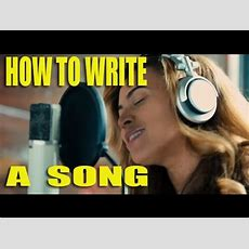 How To Write A Song  Top Ten Tips Youtube