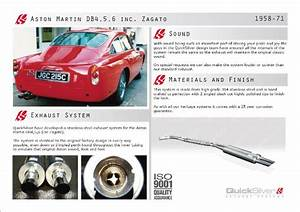Aston Martin Db5 Stainless Steel Exhaust System