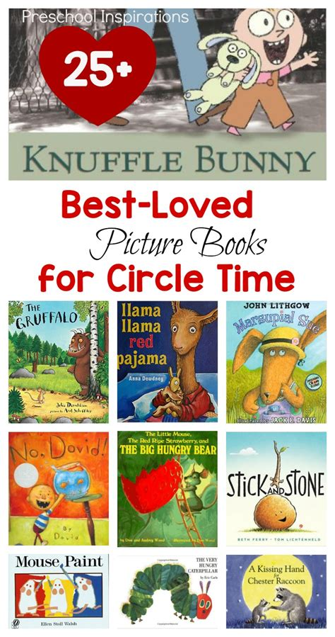 best loved circle time books preschool inspirations 516 | 25 Best loved picture books for circle time