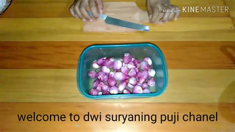 Dahulu kentang goreng hanya digoreng biasa. resep bawang goreng renyah tahan lama - YouTube