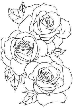 Pin by My Info on tattoos | Rose tattoo stencil, Rose outline tattoo, Rose outline