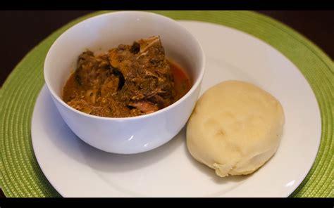 fu fu cuisine ghanaian goat stew food roots