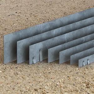 Bordure Beton Jardin : bordure jardin qualit professionnel acier galvanis ~ Premium-room.com Idées de Décoration