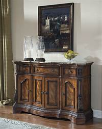 dining room buffet BROWN TRADITIONAL DINING ROOM SERVER SIDEBOARD BUFFET ...