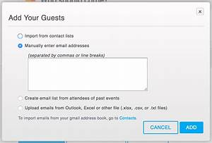 how to manage and resend invitations eventbrite support With can you send wedding invitations through email