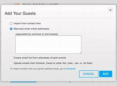 How to manage and resend invitations Eventbrite Support