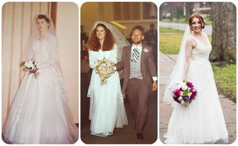 This Bride Wore The Same Dress As Her Mom And Grandma On