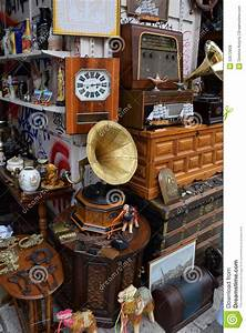 Vintage Objects Antiques Shop Editorial Stock Photo ...