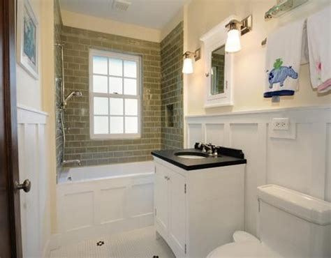 Wainscoting In Small Bathrooms