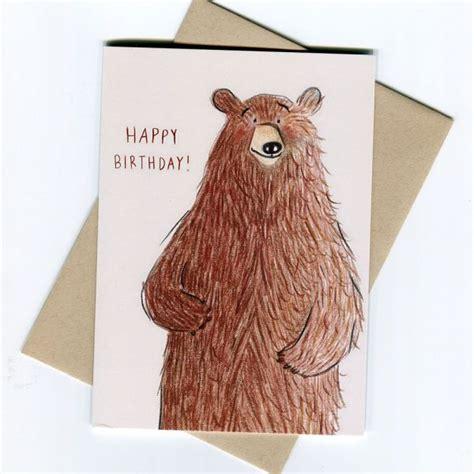 Bear Birthday Card - We Make Bristol
