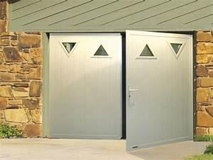 porte de garage ouvrant 2 vantaux verrier stores et fenetres With porte garage 2 vantaux
