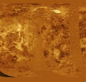 Space Images | Venus - Simple Cylindrical Map of Surface ...