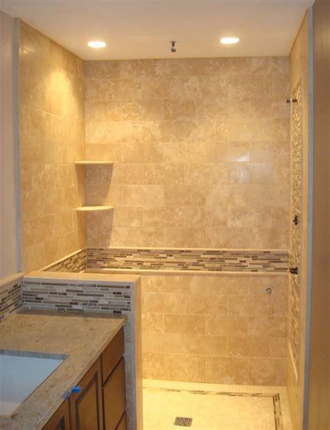 Travertine Bathroom Ideas by Image Detail For Edge Tile Travertine Shower