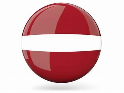 Flag Netherlands Round Icon Dutch Latvia Glossy