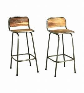 Chaise De Bar Exterieur : tabouret de cuisine en metal with chaise de bar exterieur ~ Teatrodelosmanantiales.com Idées de Décoration