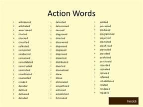 resume words list doc 13001029 verbs resumes resume verbs word list resume verbs bizdoska