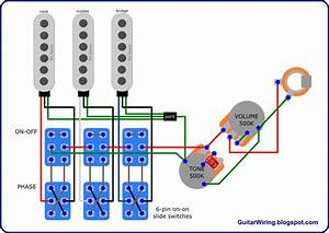 Brian May U0026 39 S Red Special Wiring Diagram