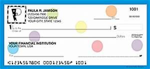 any monogram letter monogrammed personal checks custom With three letter monogram checks