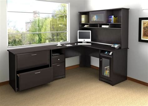 black l shaped office desk home office modular home office furniture of black l