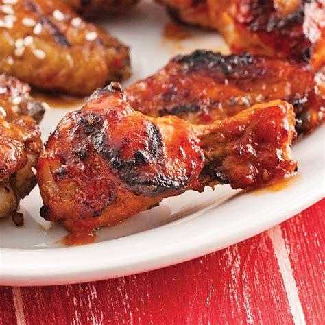 cuisine a la biere ailes de poulet sauce barbecue à la bière recettes