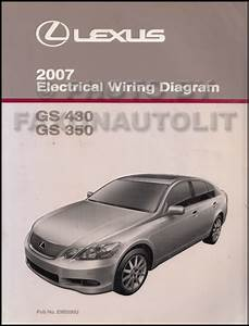 2007 Lexus Gs 350 And Gs 430 Repair Shop Manual Original 5