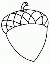 Acorn Coloring Pages Fall Acorns Drawing Print Printable Clipart Sheets Clip Crafts Preschool Cliparts Colouring Template Sheet Tree Library Clipartpanda sketch template