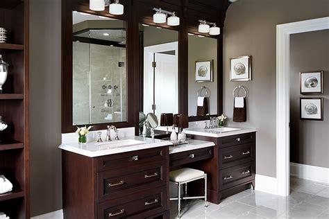 Vanity Area In Bathroom by Drop Makeup Vanity Traditional Bathroom