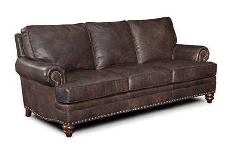 bradington young leather sofa carrado model 780