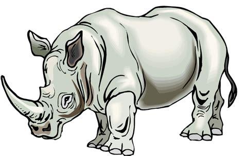 rhino design free rhino clipart