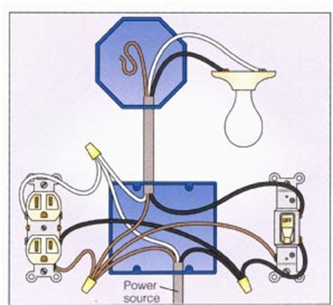 Diagram For Wiring An Schematic Powering Switch by Wiring A 2 Way Switch