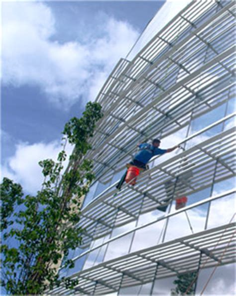 Bosuns Chair Window Cleaning by Modern Window Cleaning Commercial Residential Window
