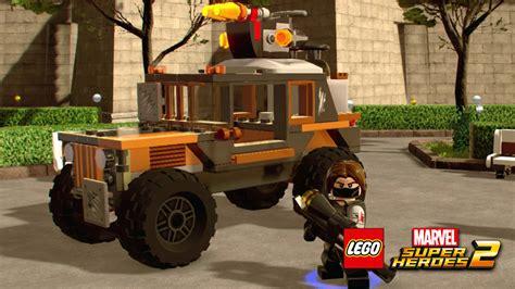 Lego Marvel Boat Unlock by Crossbones Truck Lego Marvel Heroes 2 Vehicles