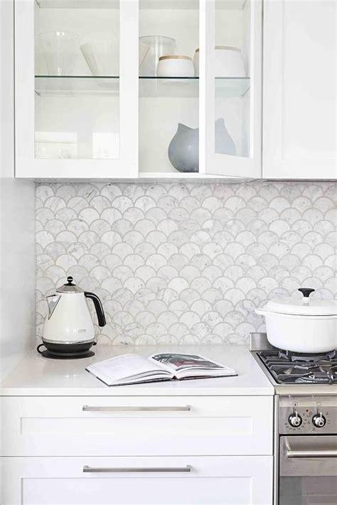 tcc nw help desk 100 oval marble backsplash transitional kitchen