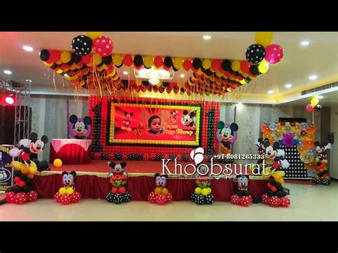 mundan ceremony decoration birthday boy khoobsurat events