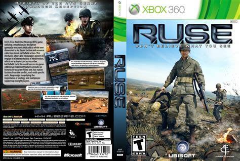 dungeon siege 3 xbox 360 ruse xbox 360 covers ruse dvd ntsc custom f