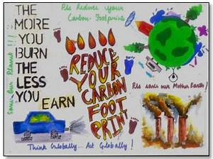 Poster on global warming with slogan | Download Free ...