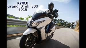 Prueba Kymco Grand Dink 300 2016