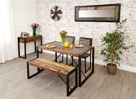 Dining Table With Bench by Chic Dining Bench