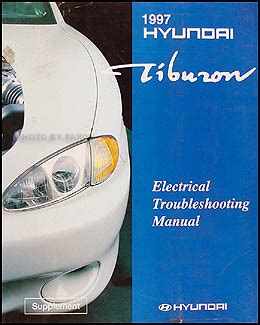 car repair manuals download 1997 hyundai tiburon lane departure warning 1997 hyundai tiburon electrical troubleshooting manual original