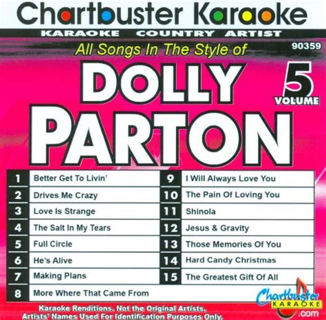 karaoke dolly parton vol  karaoke songs reviews