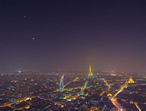 meteo parigi web venere giove e la fotografati da parigi meteo web