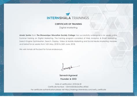 Free Digital Marketing Courses With Certificates by Digital Marketing Certificate