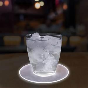 Led, 5, U0026quot, Drink, Coaster